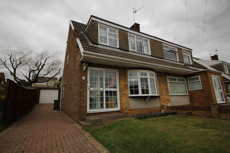 3 Bedrooms Semi Detached House for sale in Carmarthen Drive, Tonteg, Pontypridd CF38 1HY
